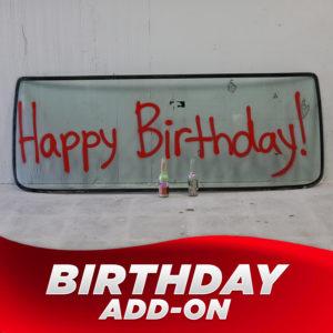 Birthday Add-on (+$45.00)