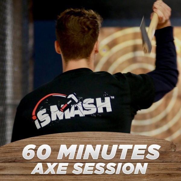 60 Minutes Axe Throwing Session