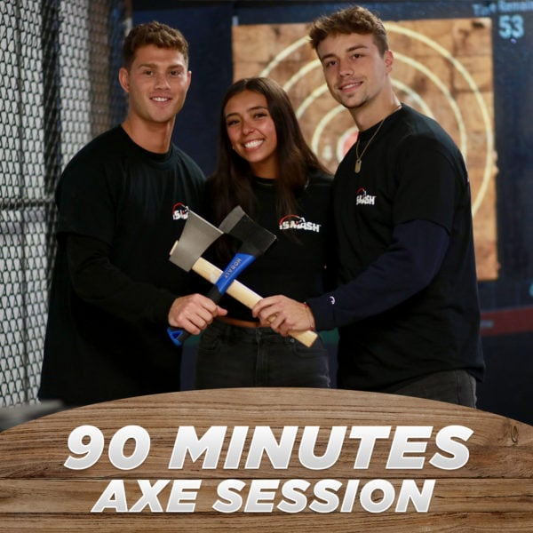 90 Minutes Axe Throwing Session
